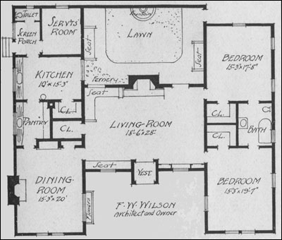 Bungalow plan by Wilson